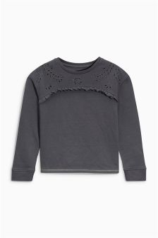 Broderie Sweat (3-16yrs)
