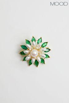Nike Pink Crop Mesh Swoosh Tee