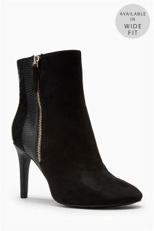 Stiletto Heel Ankle Boots