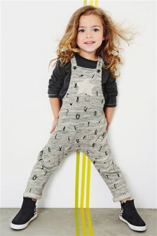 Letter Dungaree Set (3mths-6yrs)