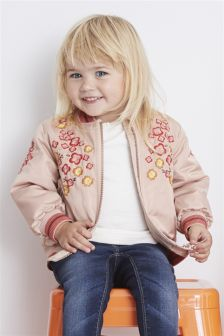 Embellished Bomber Jacket (3mths-6yrs)