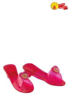 Rubies Pink Sleeping Beauty Jelly Shoes