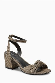Low Block Sandals