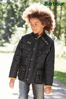 Barbour® Black International Ariel Quilt