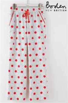 Boden Red Spot Pyjama Pant