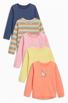 T-Shirts Five Pack (3mths-6yrs)