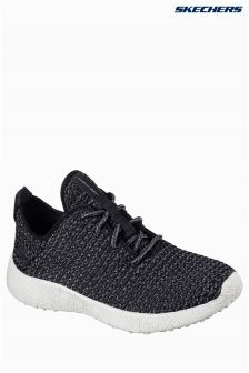 Skechers® Black/Grey Sport Burst Trainer
