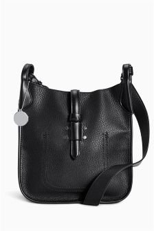 Stud Detail Saddle Bag