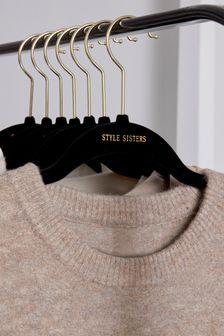 Miss KG Miller Black Croc Chain Loafer