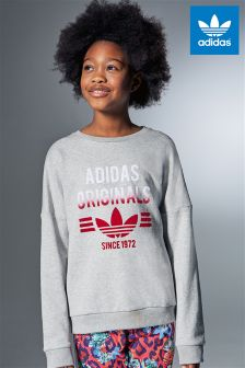 adidas Originals Grey Crew Sweater