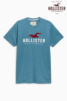 Hollister Green Logo T-Shirt