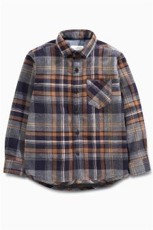 Long Sleeve Jersey Lined Shirt (3-16yrs)