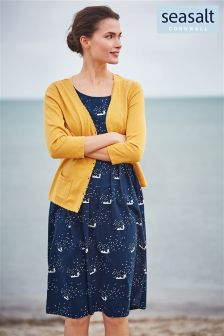 Seasalt Navy Gylly Dress
