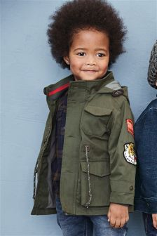 Badge Jacket (3mths-6yrs)