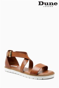 Dune Jada Leather Sports Luxe Sandal