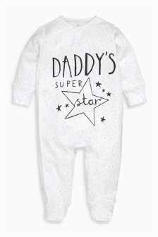 Daddy Sleepsuit (0-18mths)