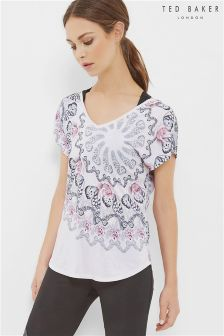 Ted Baker Pink Butterfly Strap Tee