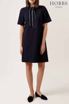 Hobbs Blue Sarah Dress