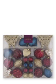 50 Piece Bauble Set