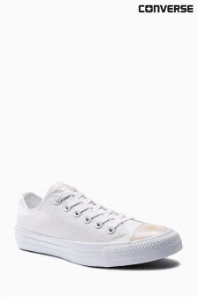 Converse White Brush Off Toe Cap Chuck Taylor All Star