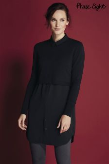 Phase Eight Black Melita 2 In1 Tunic