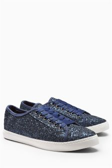 Glitter Slim Trainers
