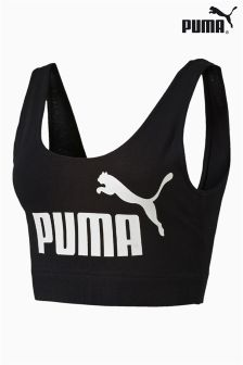 Puma® Black Essential Crop Top