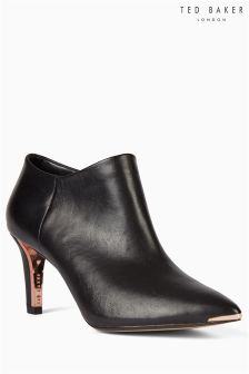 Ted Baker Black Nyiri Pointed Heel Boot