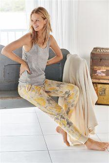 Cosy Dog Print Pants