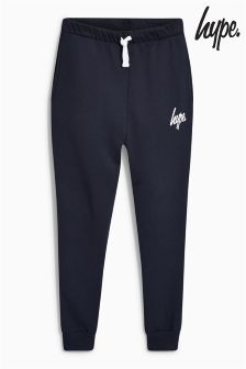 Hype Navy Drop Crotch Jogger