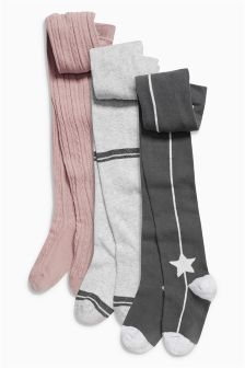 Tights Three Pack (3-16yrs)