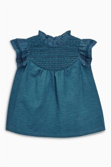 Lace Panel Blouse (3mths-6yrs)