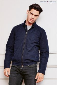 Tommy Hilfiger Navy Lightweight Bomber Jacket