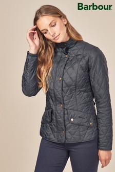 Barbour® Navy Cavalry Polarquilt Jacket