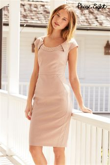 Pink Phase Eight Belle Pearl Dress