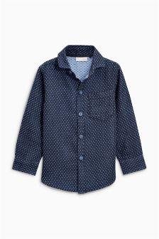 Double Cloth Long Sleeve Shirt (3-16yrs)