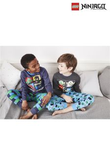 Lego™ Ninjago Pyjamas Two Pack (4-10yrs)