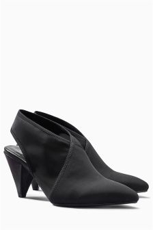 Point Slingback Shoe Boots