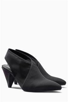 Point Slingback Shoe Boots