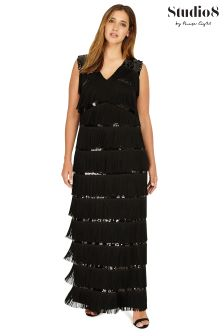 Studio 8 Black Estrella Maxi Dress