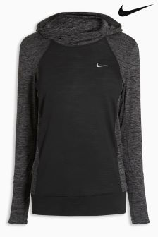 Nike Run Black Dry City Wool Hoody