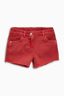 Crochet Detail Shorts (3-16yrs)