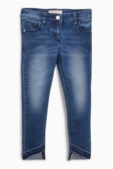 Asymmetric Hem Jeans (3-16yrs)