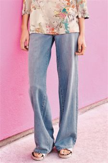Wide Leg Jeans for Women | Flare & Coloured Wide Leg Jeans | Next