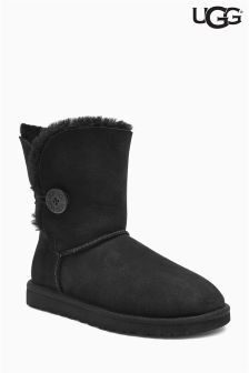 Ugg Black Baily Button Short Boot