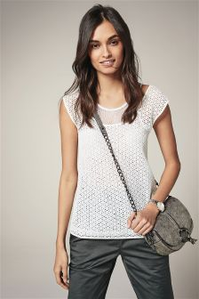 Lace Layer Tee