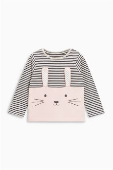3D Rabbit T-Shirt (3mths-6yrs)