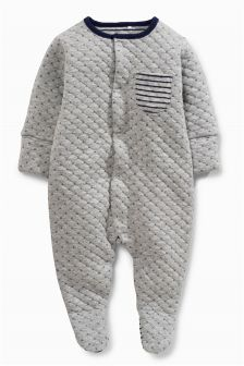 Quilted Sleepsuit (0mths-2yrs)