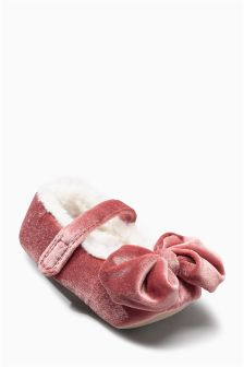 Velvet Ballet Slippers (Younger Girls)