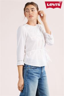 Levi's® White Cindy Blouse